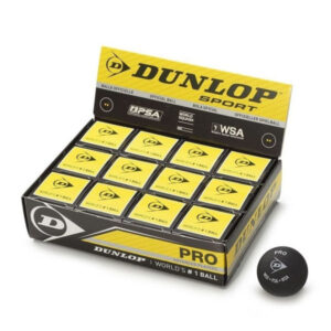Bola Squash Dunlop Caja