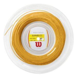 Cuerda Wilson Poly Gold - Tennis World Colombia - Tienda Online