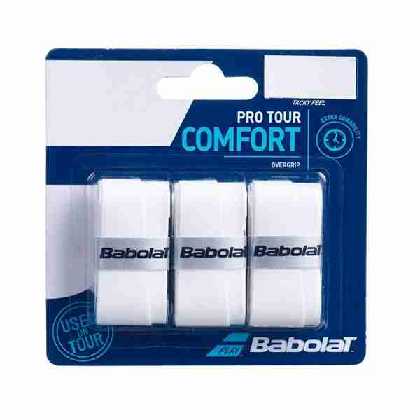 Overgrip Babolat Pack x 3 White