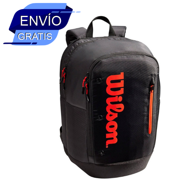 Tour Backpack Red Black