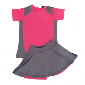 Conjunto Point Fit Pink/Gray